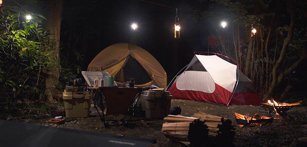 テント、キャンプ